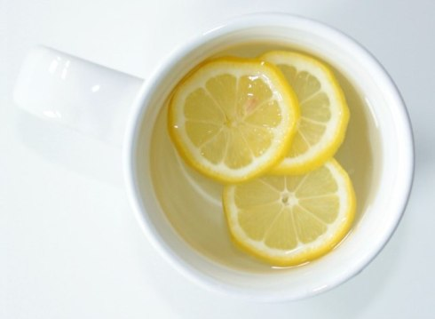 Try hot water with lemon to start your day!